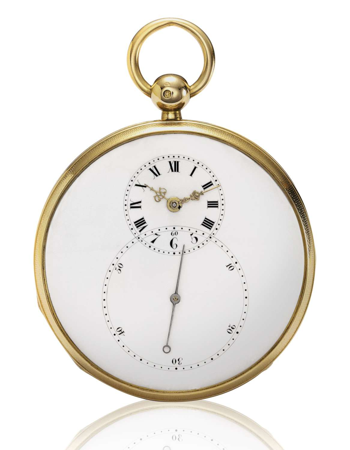 The Grande Seconde pocket watch made by Pierre Jaquet-Droz in 1784.