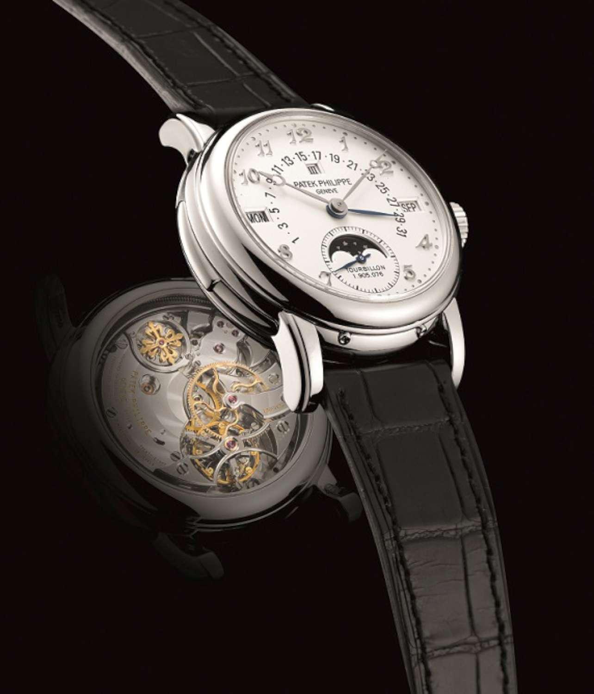Lot 352_Patek Philippe tourbillon wristwatch ref. no. 5016, year 2002_ Lot 352-1500