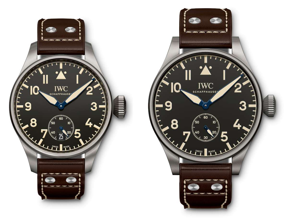 IWC Big Pilot's Heritage Watch 48 and 55