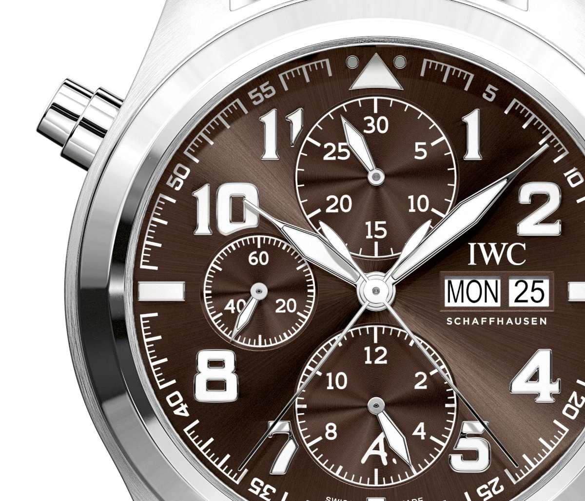 new product fca72 f4b2b IWC Pilot's Watch Double Chronograph Edition Antoine de ...