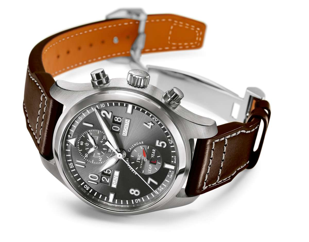 IWC Pilot's Watch Perpetual Calendar Digital Date-Month Spitfire, reference IW379108
