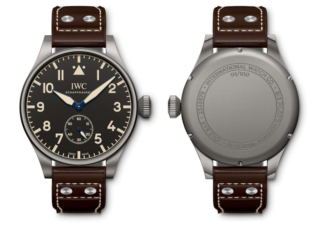 IWC Big Pilot's Heritage Watch 55 reference IW510401