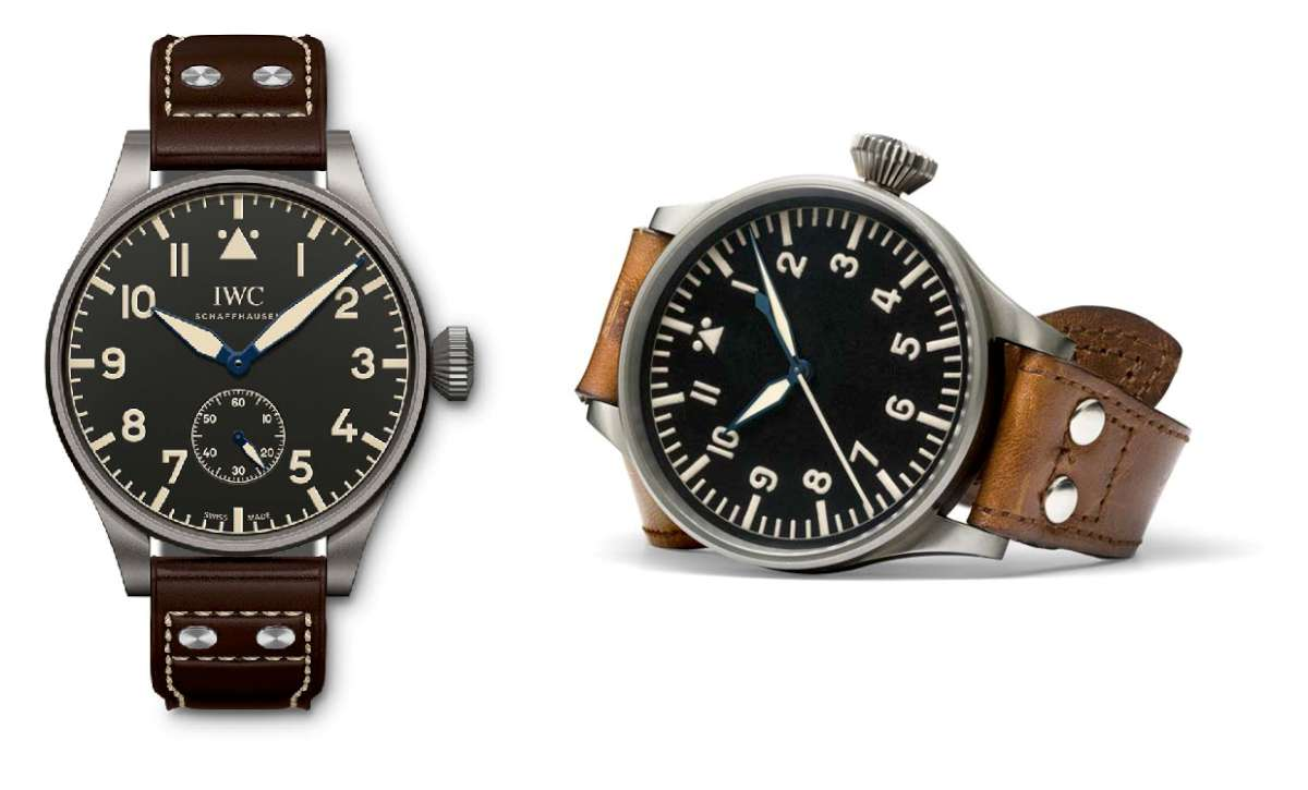 Big Pilot's Heritage Watch, 55, reference IW510401, Big Pilot's Watch, 52-calibre T.S.C.