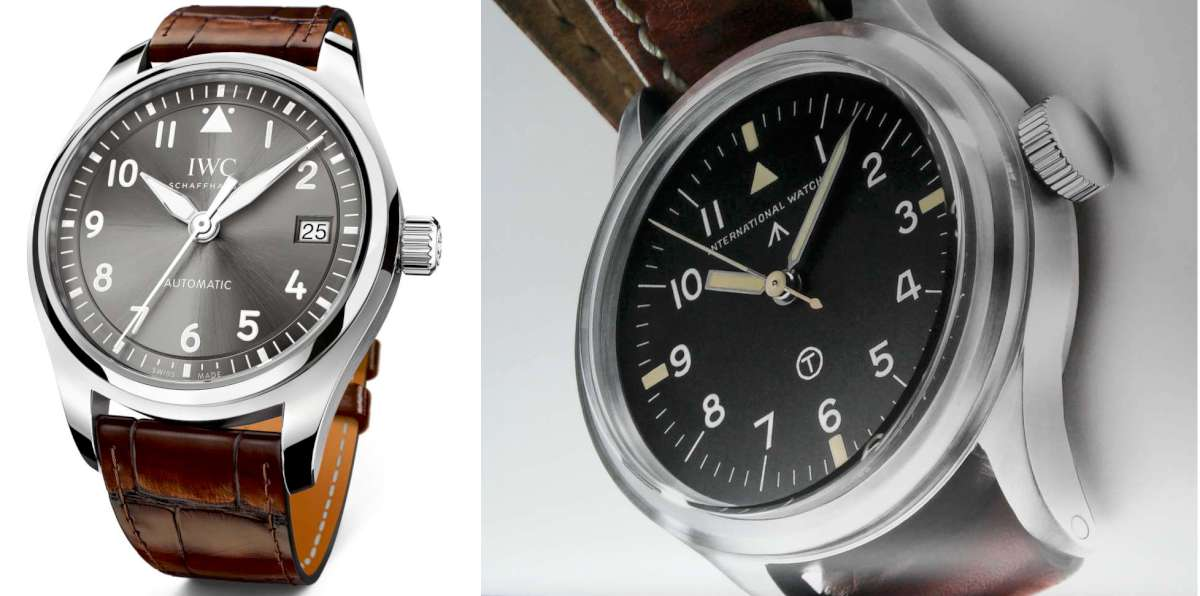 Pilot's Watch Automatic 36 IW324001 and the original Mark XI