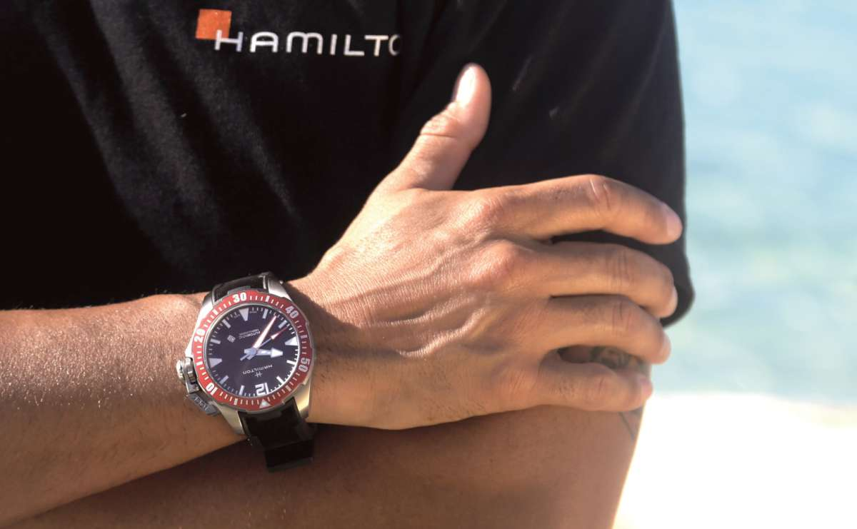 Hamilton Khaki Navy Frogman Time Transformed