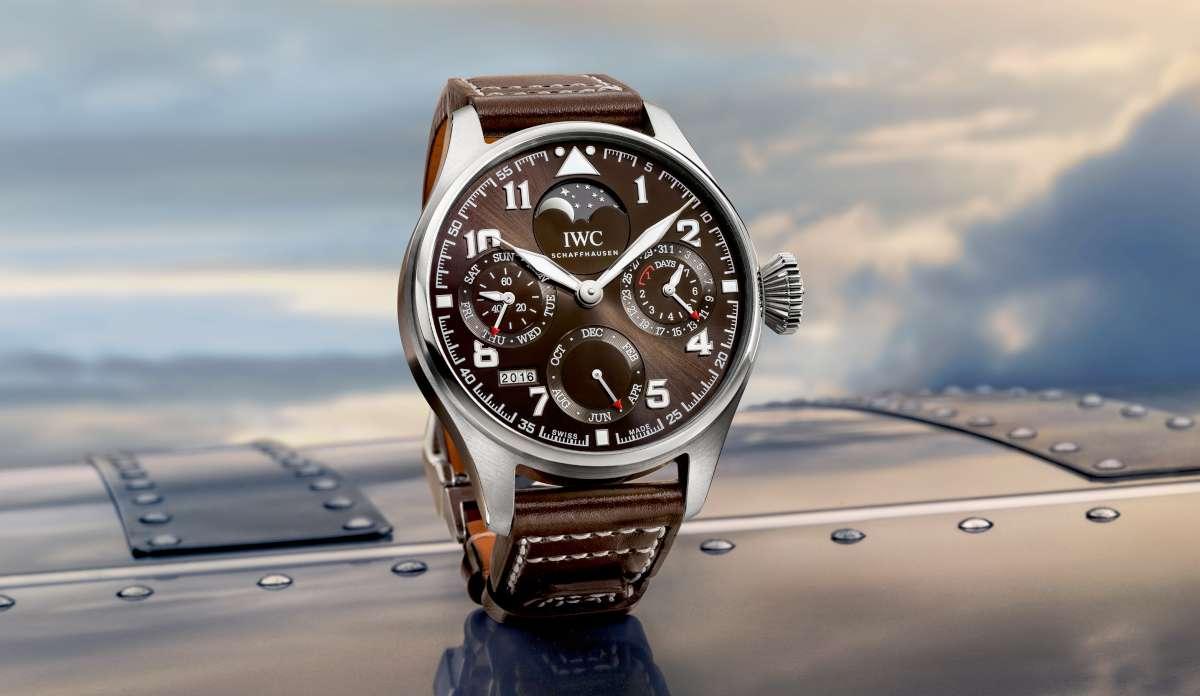 f3bff71b729c IWC Big Pilot s Watch Perpetual Calendar Edition Antoine de Saint Exupéry  IW503801 - Time Transformed