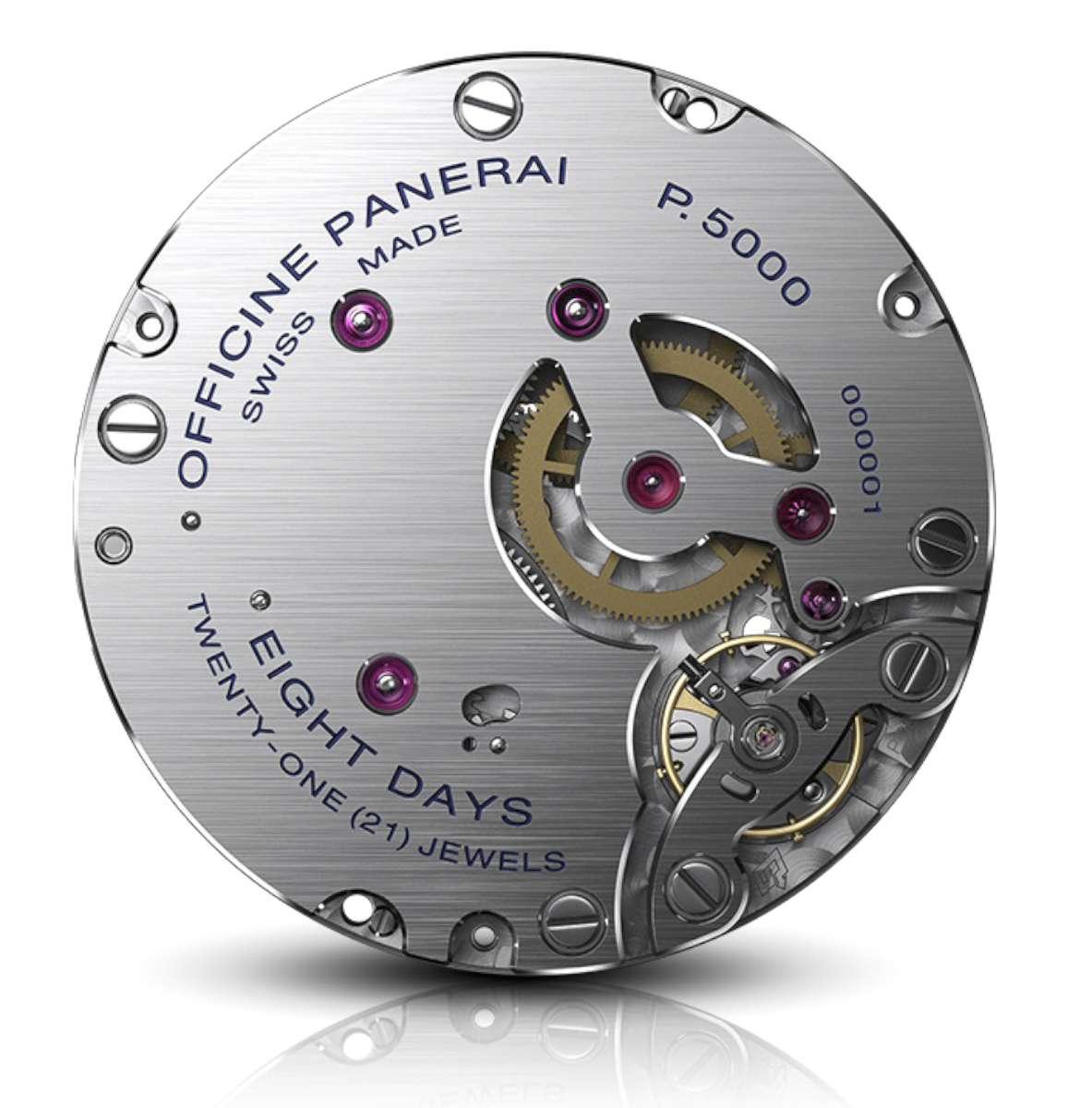 Panerai P.5000 movement