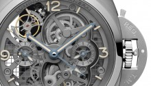 Panerai Lo Scienziato Luminor 1950 Tourbillon GMT Titanio 47mm