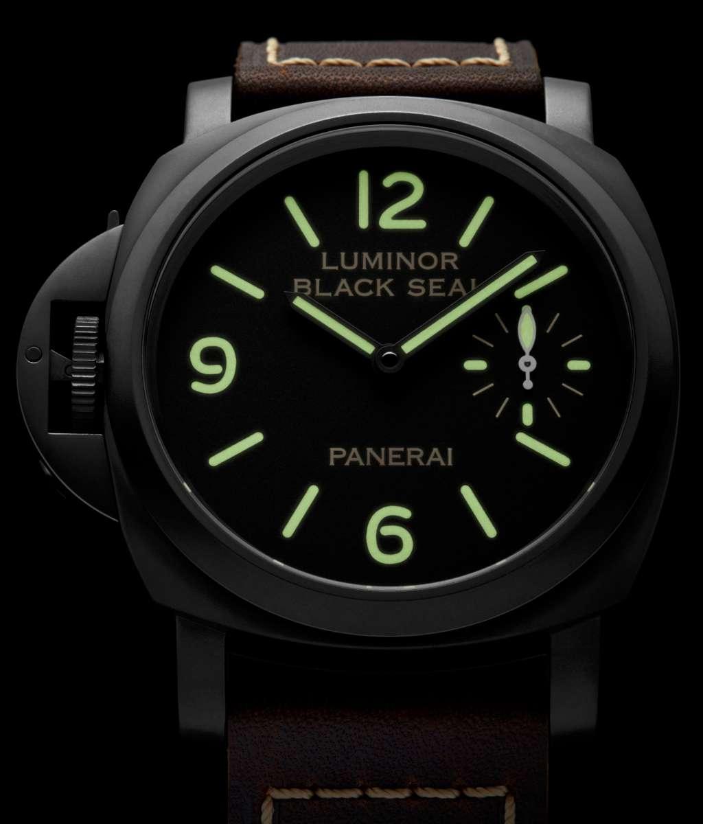 Panerai Luminor Black Seal Left-Handed 8 Days