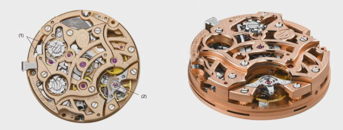 Parmigiani Fleurier Tonda Chronor Anniversaire movement