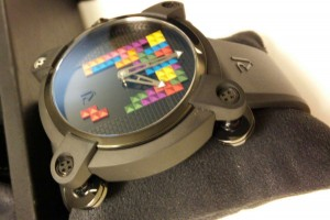 Romain Jerome Tetris moonlander feet