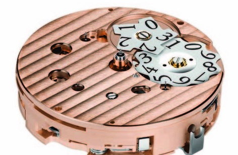 Parmigiani Fleurier Tonda Chronor Anniversaire movement, big date