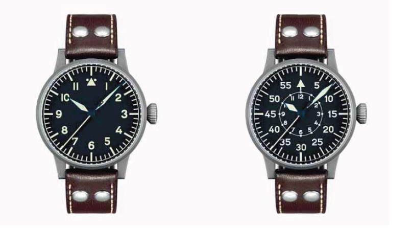 Type A and Type B watches by Laco