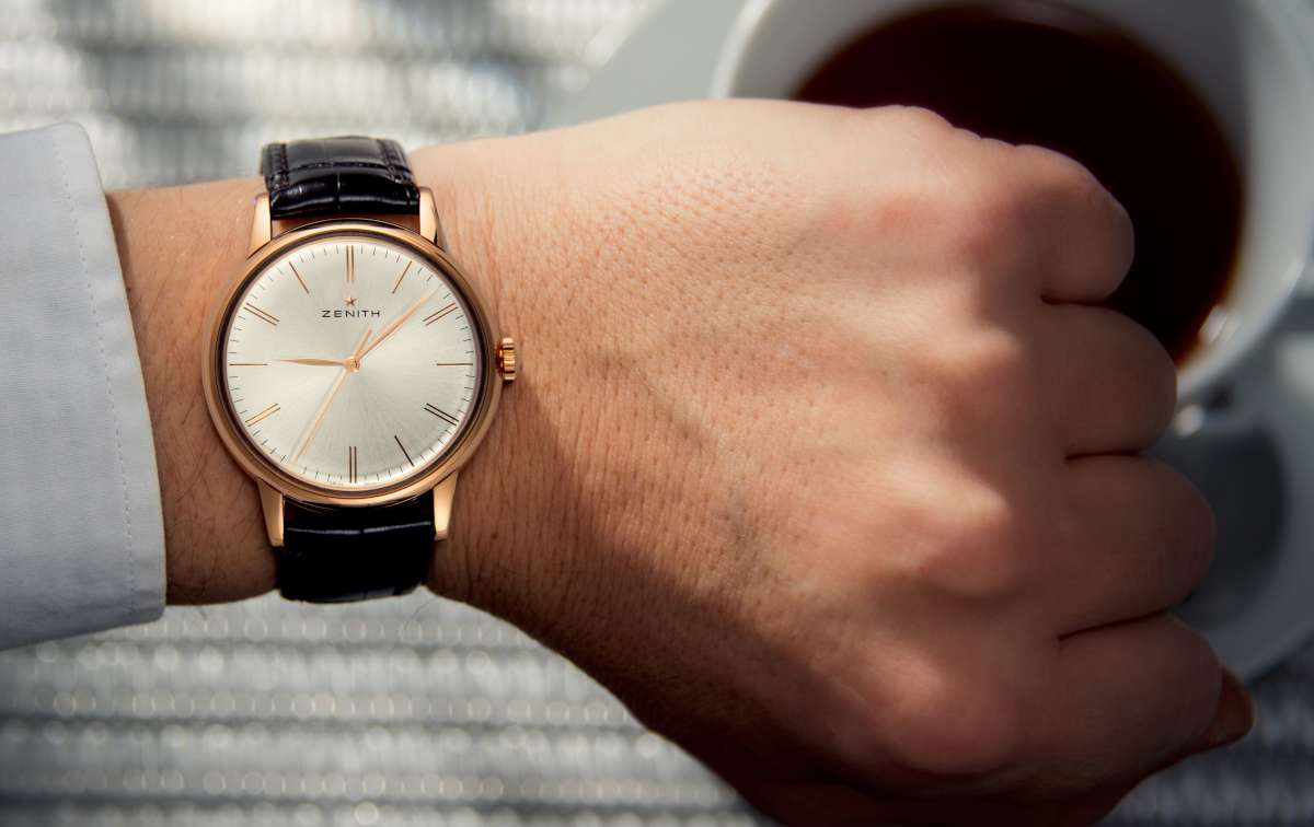 Zenith Elite 6150, rose gold