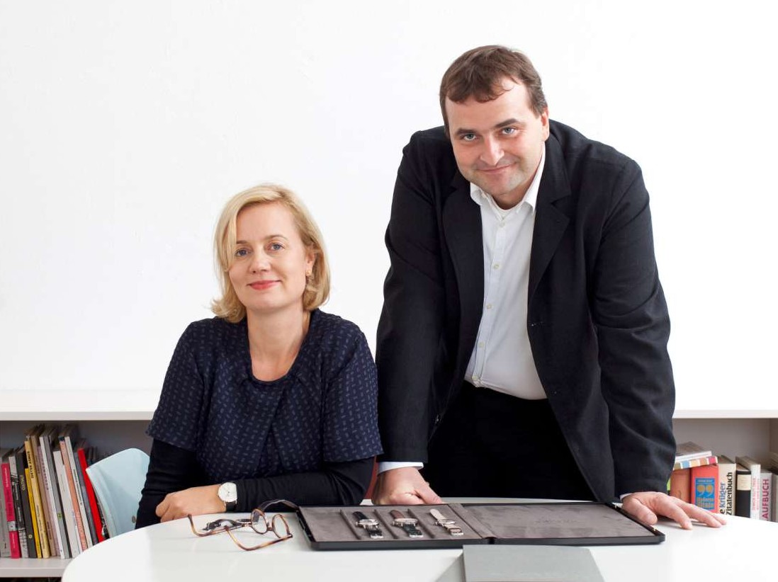 Uwe_Ahrendt, CEO, and Judith Borowski, head of design and branding