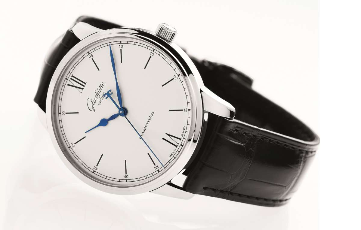 Glashutte Original Senator Excellence Automatic steel white dial