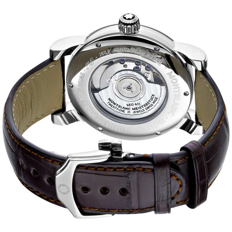 Montblanc Star 4810 Automatic caseback