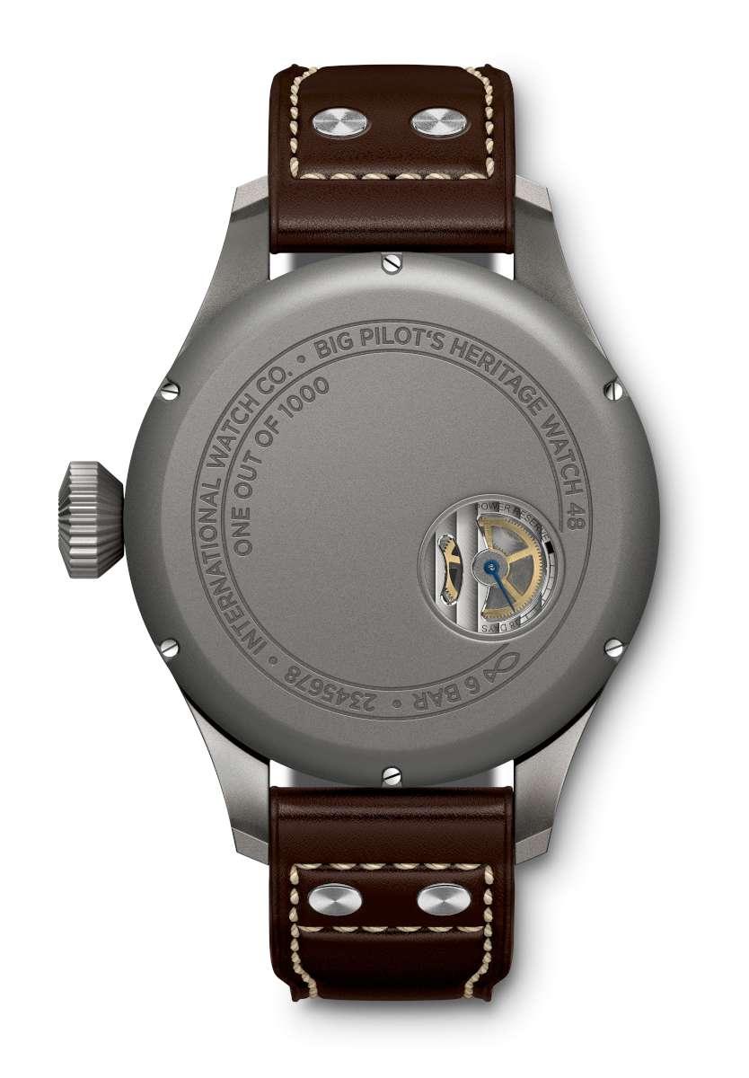 IWC Big Pilot's Heritage Watch 48 IW510301 caseback