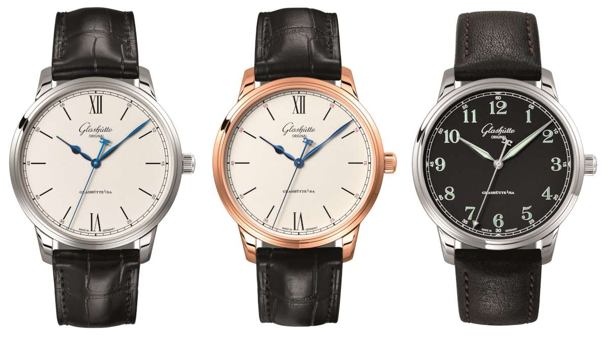 Glashutte Original Senator Excellence Automatic, the three new models