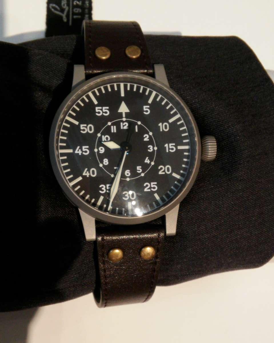 Laco Aviator Observation Watch