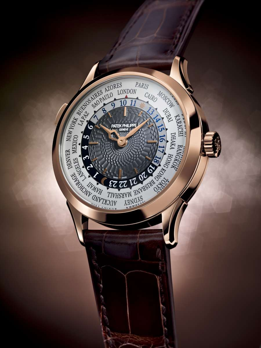 Patek Philippe World Time watch Ref. 5230 in red gold