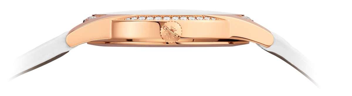 Patek Philippe Calatrava Timeless White Ref. 7122, profile, rose gold
