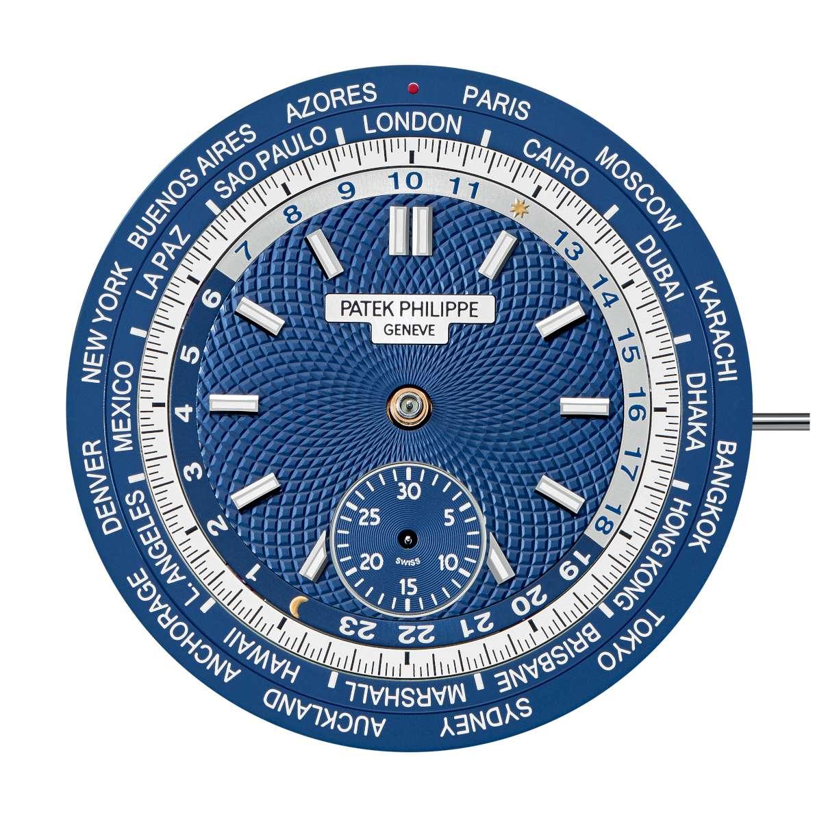 Patek Philippe World Time Chronograph ref. 5930 dial