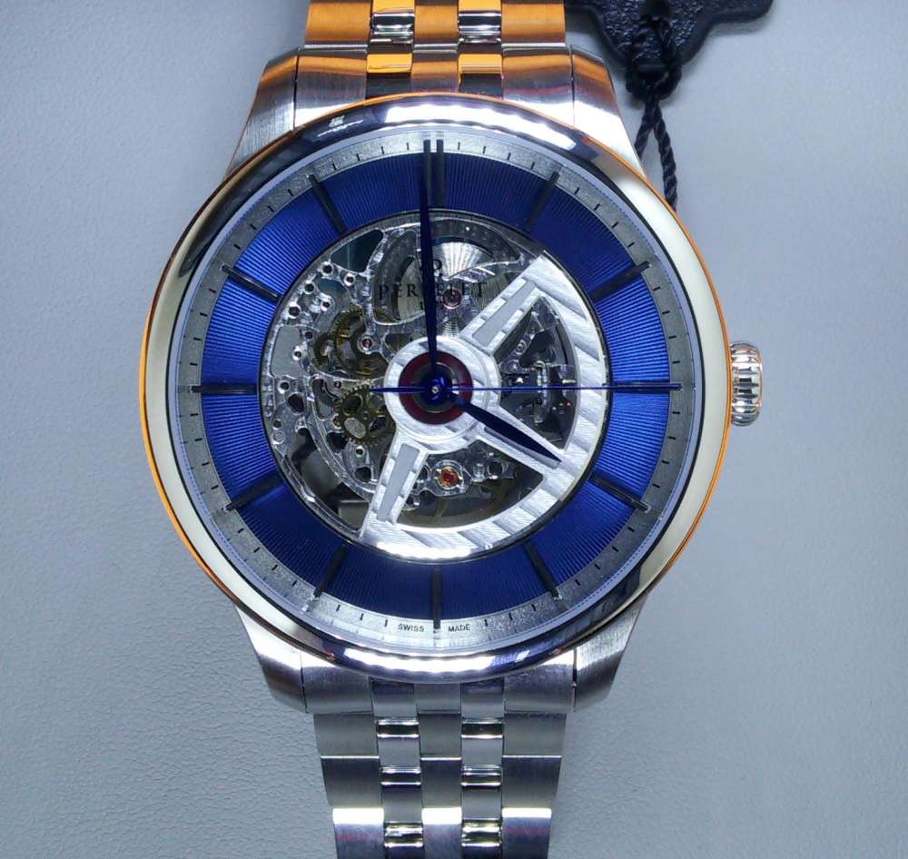 Perrelet First Class Double Rotor openworked dial