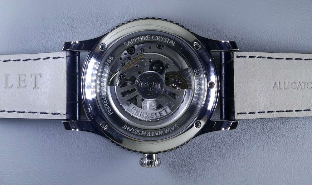 Perrelet First Class Double Rotor, P-181-H movement