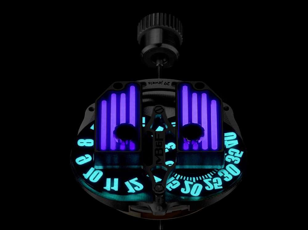 MB&F HMX Black Badger movement