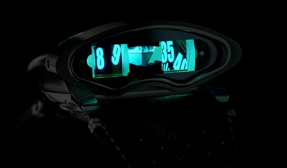 MB&F HMX Black Badger, blue version