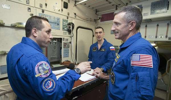 Fortis watches and the ISS space station