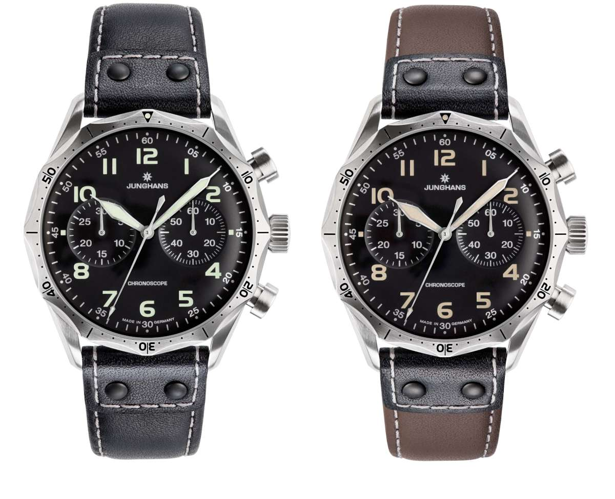 Junghans Meister Pilot, two versions