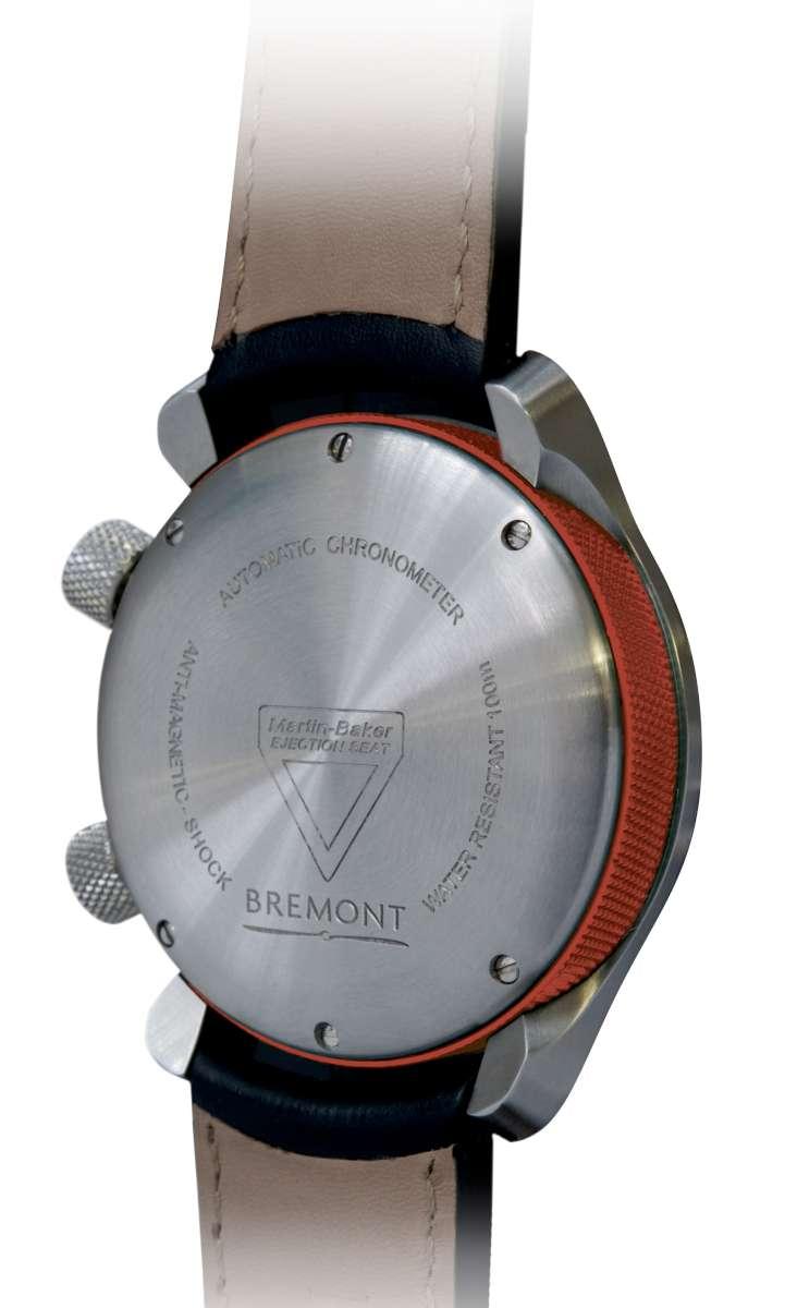 Bremont MBII White caseback