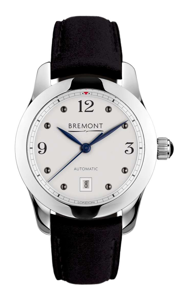 Bremont Solo-32 AJ, white dial version