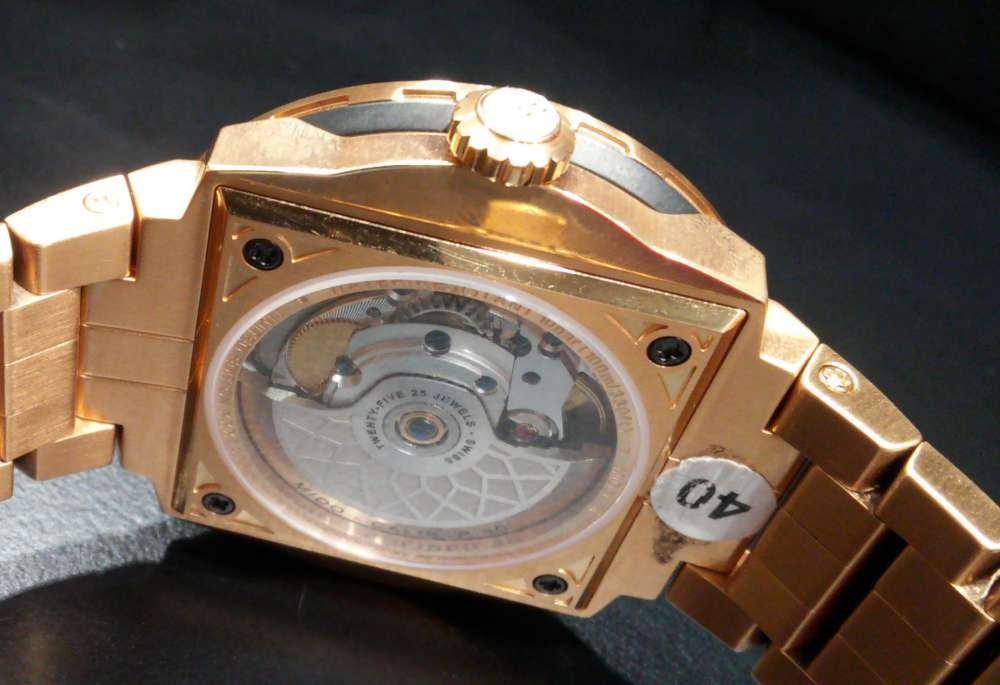 Mido Big Ben Limited Edition caseback