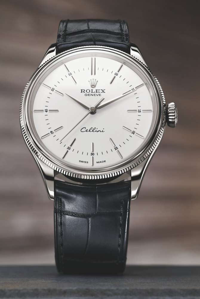 Rolex Cellini Time in white gold