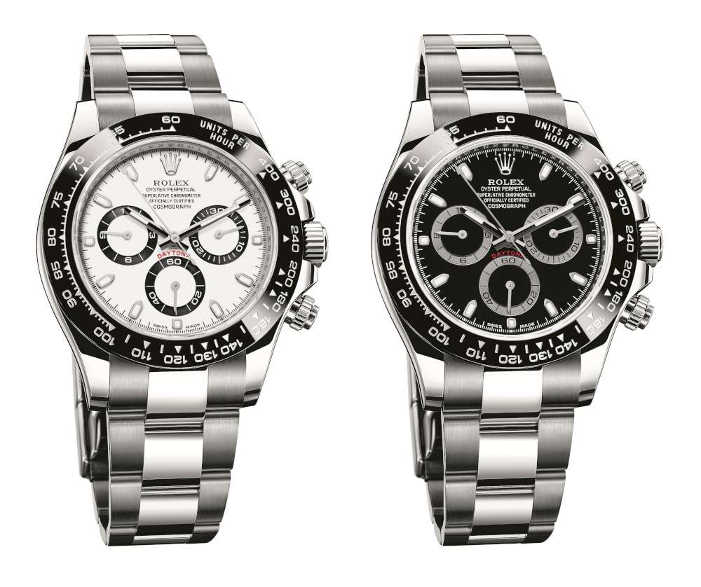 Rolex Oyster Perpetual Cosmograph Daytona two versions