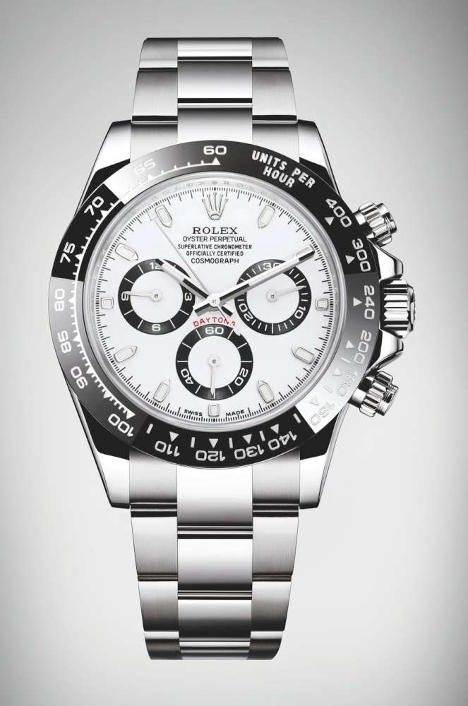 Hertz To Seconds >> Rolex Oyster Perpetual Cosmograph Daytona - Time Transformed