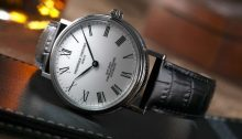 Frederique Constant Classics Art of Porcelain dress watch