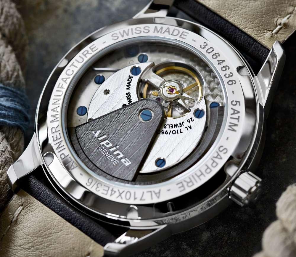 Alpina Alpiner Heritage Manufacture KM-710, caseback