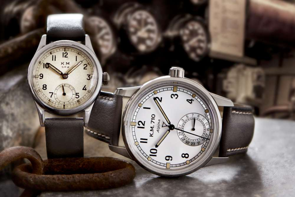 Alpina Alpiner Heritage Manufacture KM-710, with the historic version