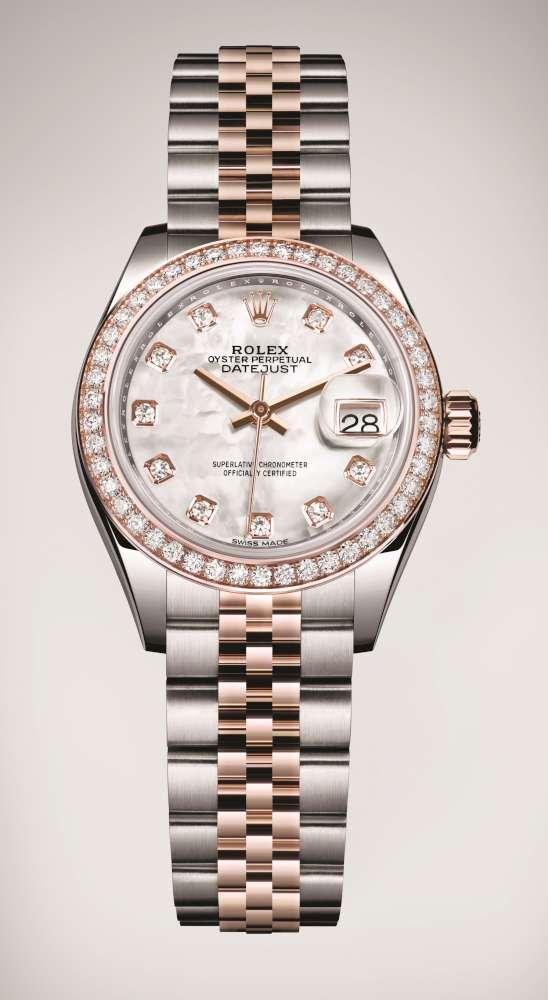 Rolex Datejust 28 Pink