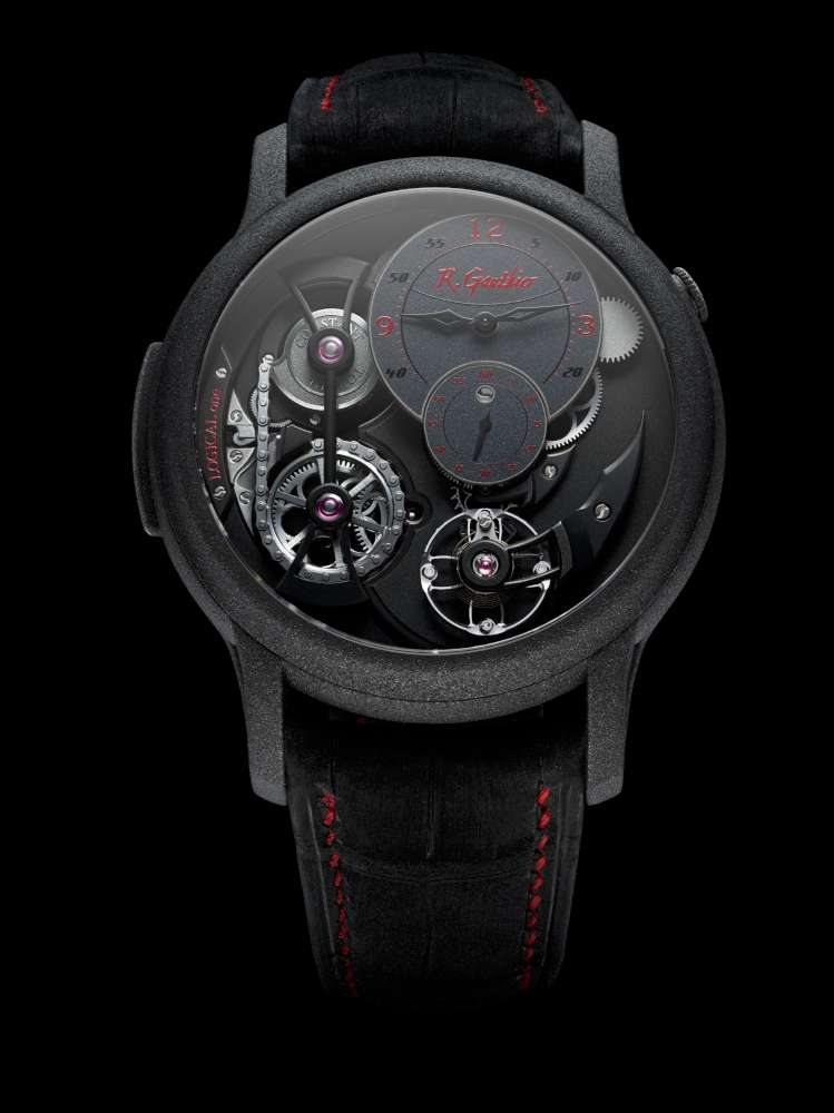 Romain Gauthier Logical One Enraged, red accents