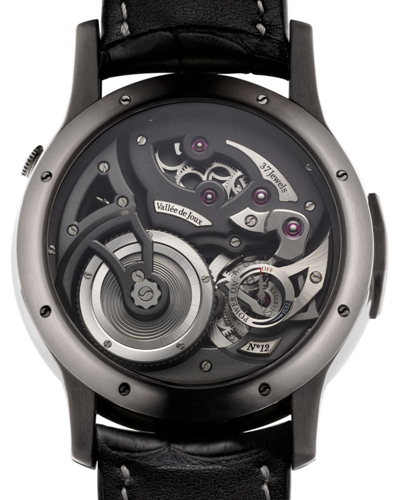 Logical One Natural Titanium, movement side