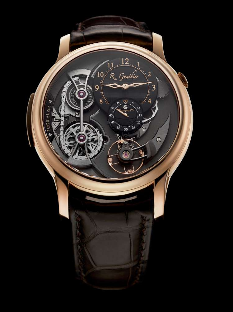 Romain Gauthier Logical One, red gold