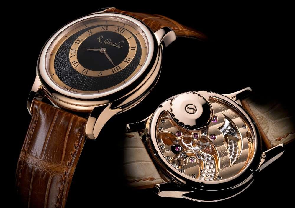 Romain Gauthier Prestige HM, red gold