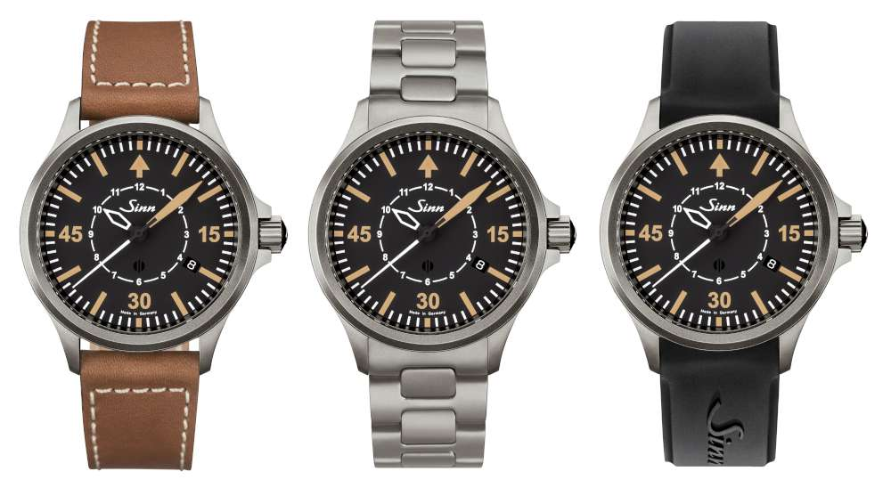 Sinn 856 B-Uhr strap versions