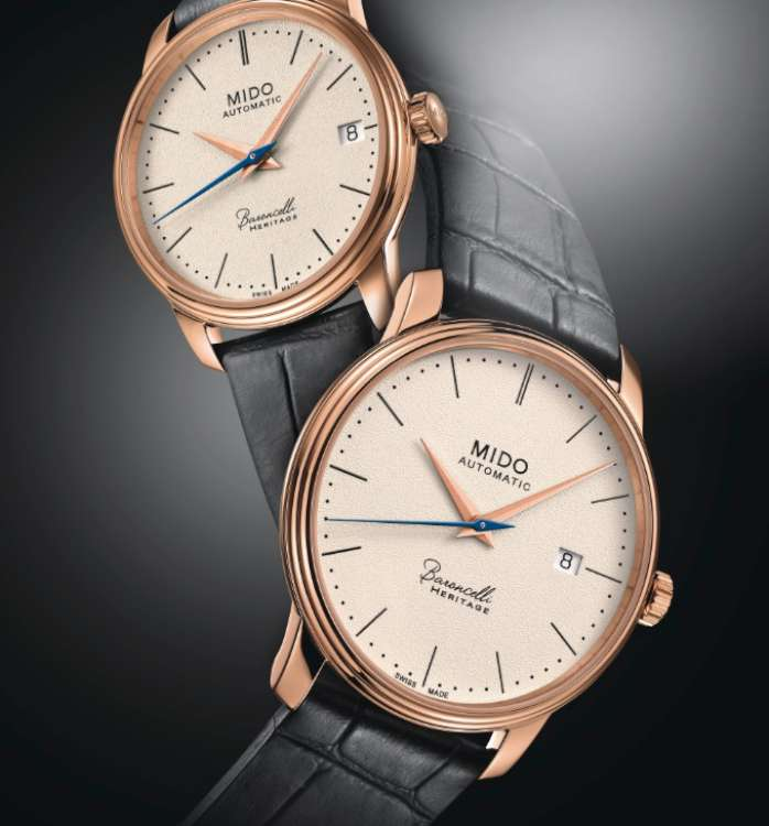 Mido Baroncelli Heritage 33mm and 39mm