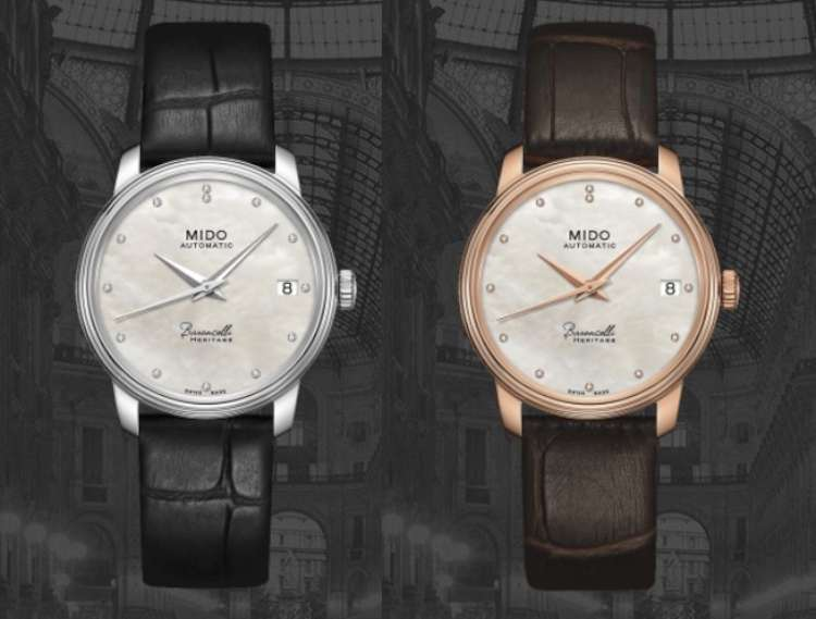 Mido Baroncelli Heritage 33mm mother-of-pearl dial